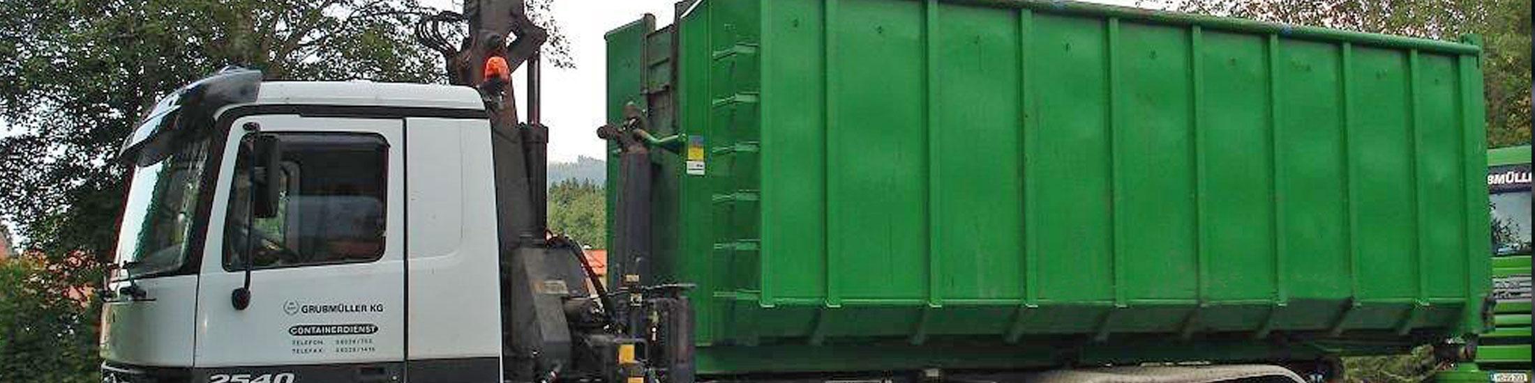 Containerdienst Entsorgung Fischbachau Grubmüller